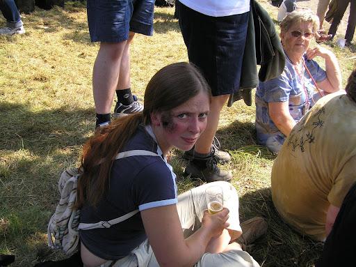 Bild: Der Mohr beschmutzt weiße Frauen durch Anfassen