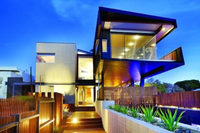 Casa moderna Beaumaris Maddison Arquitectos
