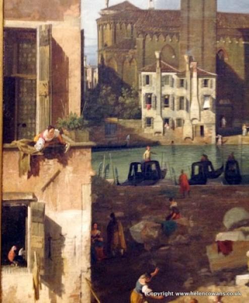 Caneletto Venice 1728