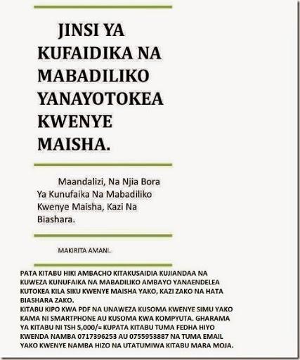 mabadiliko cover EDWEB