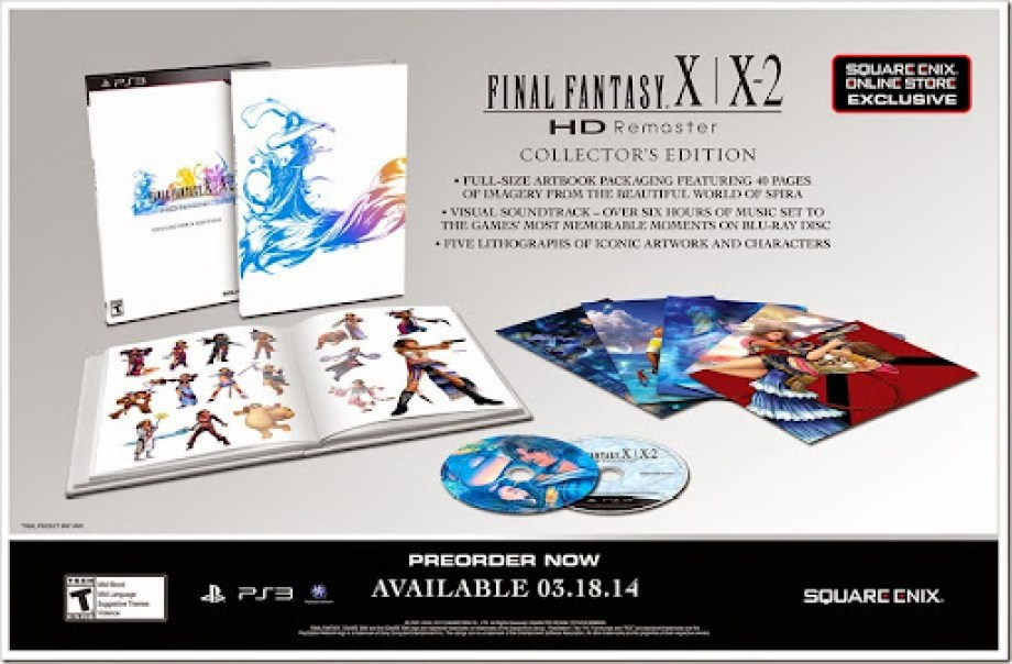 Final Fantasy X - X-2 HD Collector Edition 05