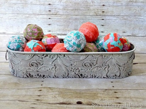 Fabric Covered Balls1