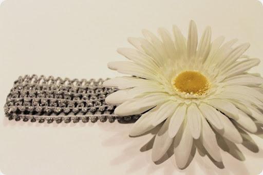 daisy baby headband diy