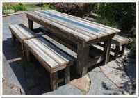 Fishtail Cottage: Rustic Outdoor Table