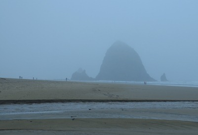 finally found it, the famous haystack Rock at Cannon Beach