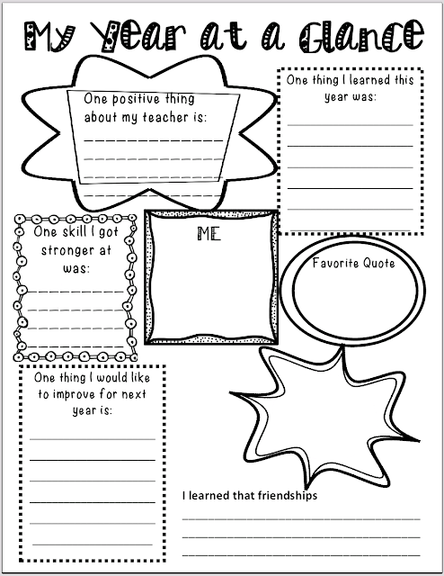 LoveN3rdGrade: End of the Year Reflection