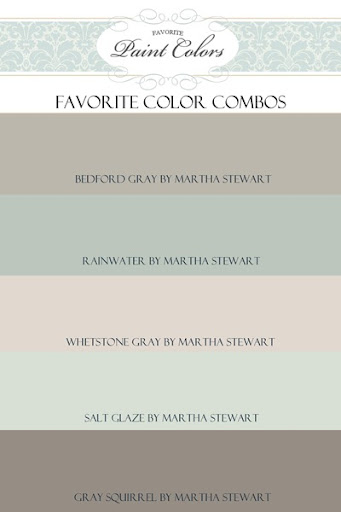 Paint Color Combination for Bedford Gray: Favorite Paint Colors