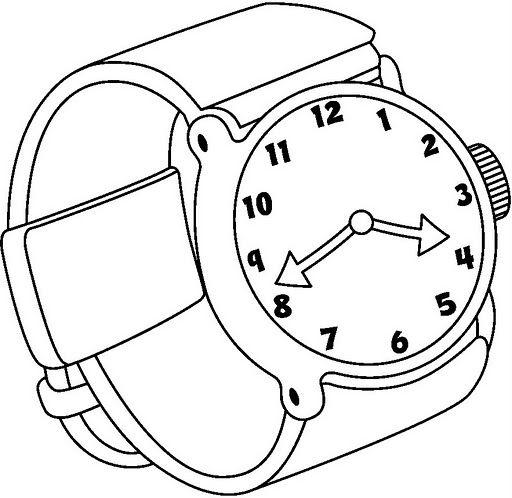 Image Of Relojes Para Colorear Ninos Dibujo De Relojes