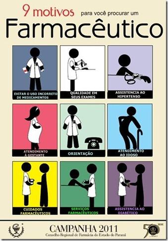 9 Motivos para procurar um Farmaceutico