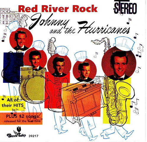 Johnny & The Hurricanes - Red River Rock (B Tulip) cover outside