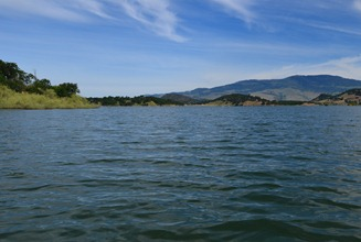 southern end of Emigrant Lake near Ashland Oregon