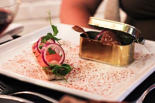Makrel i tomat på Color Hotel Skagen - Mikkel Bækgaards Madblog