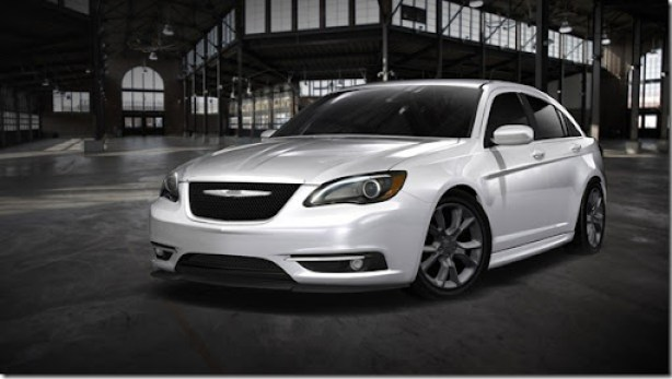 Chrysler 200 Super S by Mopar.  Stage One appearance package amplifies refined styling of Chrysler 200.  Stage Two amplifies performance with coil-over suspension, cold-air intake and cat-back exhaust.