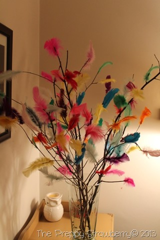 Påskris - Swedish Easter Tree {The Preppy Strawberry}