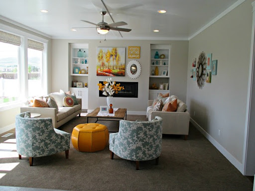 A Home Tour with Paint Color Scheme Ideas