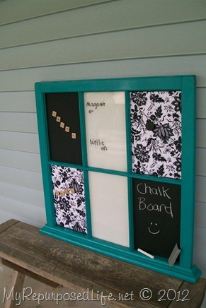 chalkboard window