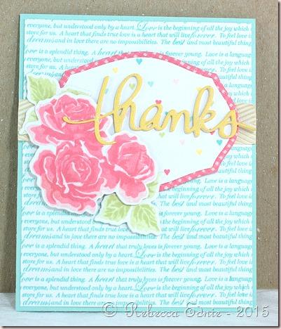 thanks roses mojo mon