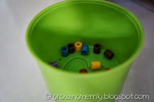 Green stacking cup