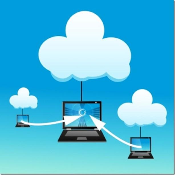 Internet nas nuvens