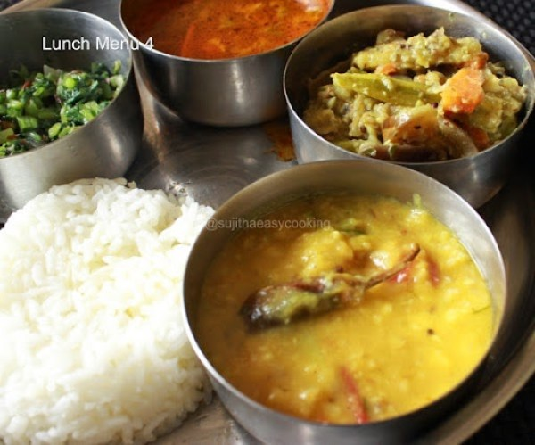 Lunch menu 4a