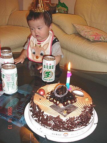 ★綺異果@季節般的森林迷宮★: 小昊昊周歲生日Party