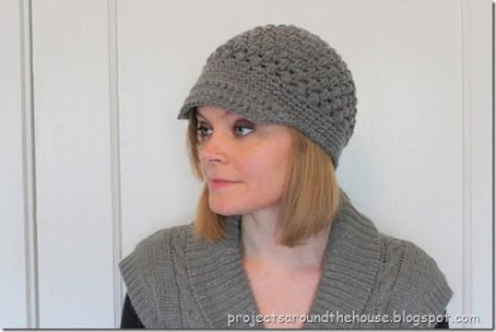 Crochet Puff Stitch Newsboy Pattern Renewed Claimed Path