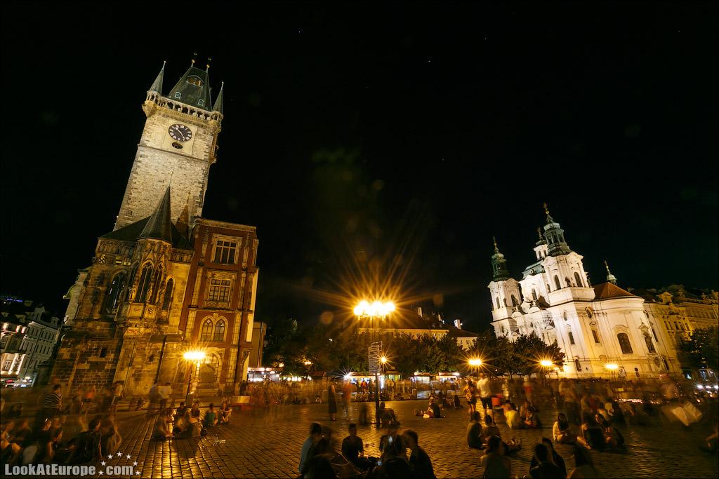 Ратуша Староместской площади и Собор Святого Николая