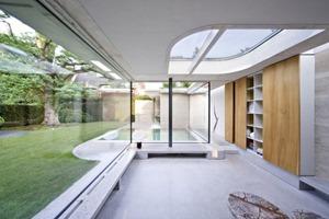 interior Casa IV de arquitectos De Bever