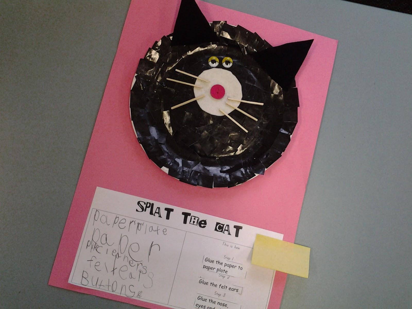 Kindergarten Blossoms Splat The Cat
