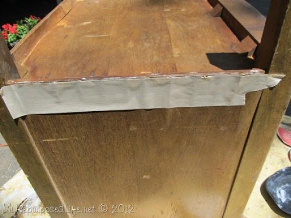how to repair bad veneer