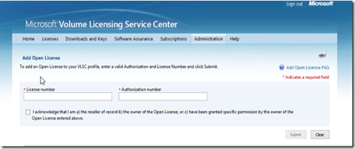 activation office 365 license