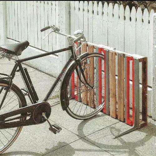 Palette range vélo