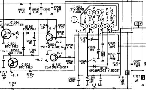 Transistor Horizontal Tv Sony 29 Inch