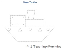 shape vehicles