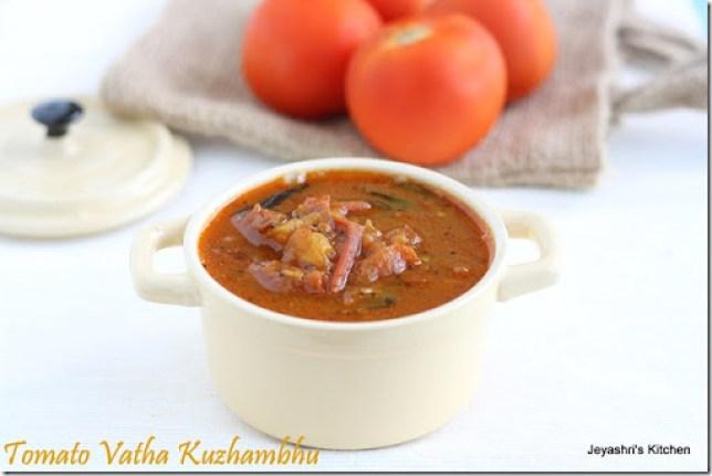 tomato- vathakuzhambhu