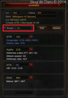 Quando achar o item, volte para Devias e entregue para a NPC Sebina the Priest . Você receberá 10 pontos extras e poderá distribuí-los como quiser.