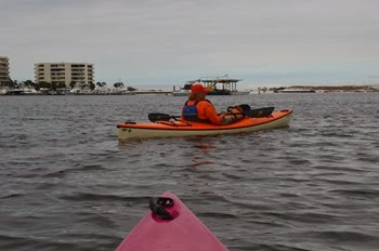 morning kayak into Destin Harbor
