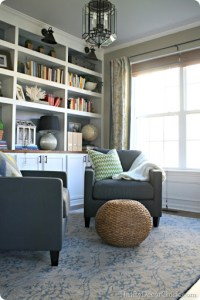 Dining room turned library, finally! from Thrifty Decor Chick