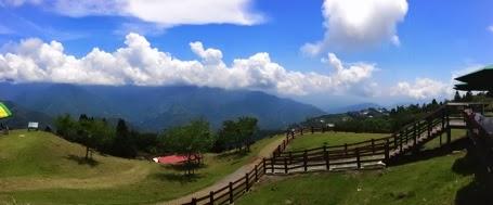 The grassland and the sky
