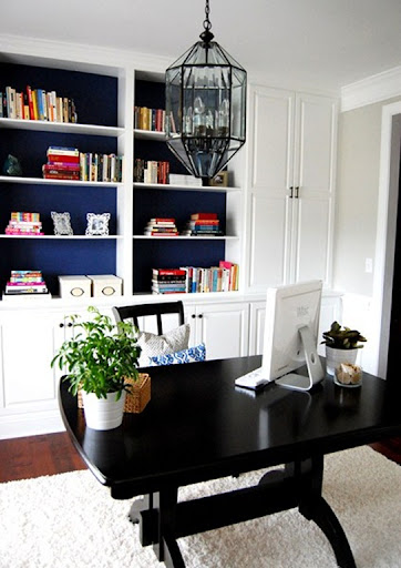 Another Dining Room to Office Transformation  Emily A Clark