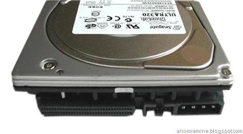 SCSI harddisk