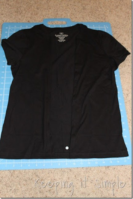 t-shirt to cardigan (6)