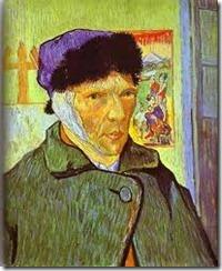 Self Portrait Ear - Van Gogh