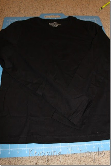 t-shirt to cardigan (2)