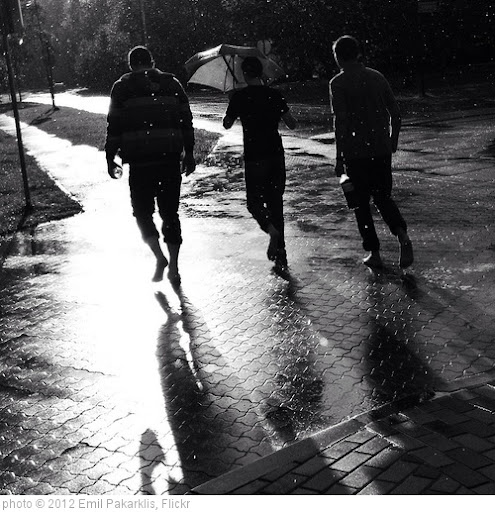 'Running in the Rain' photo (c) 2012, Emil Pakarklis - license: http://creativecommons.org/licenses/by/2.0/