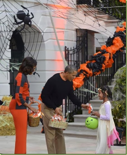 Image result for halloween at white house