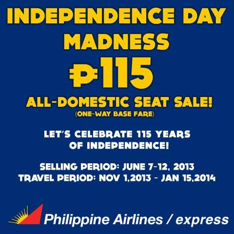 PAL Independence Sale