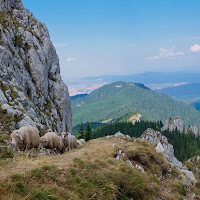 Piatra Mare (Bucegi mountains) with the Fuji X10