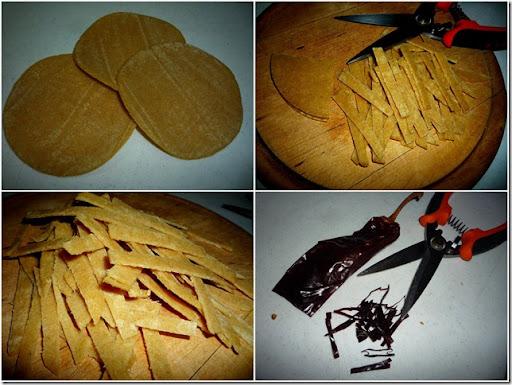 1.- Paso a paso Sopa de Tortilla
