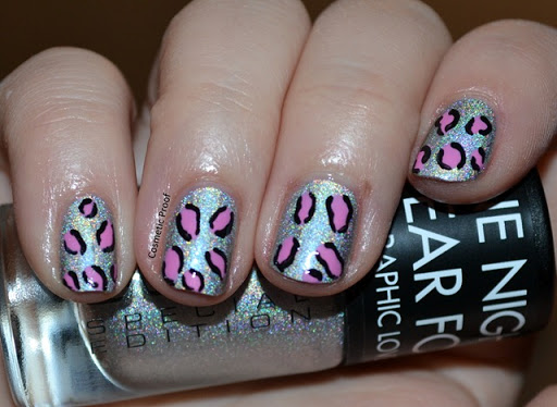 sunday night nail art with